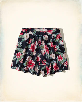 Bellflower High Rise Culotte Shorts