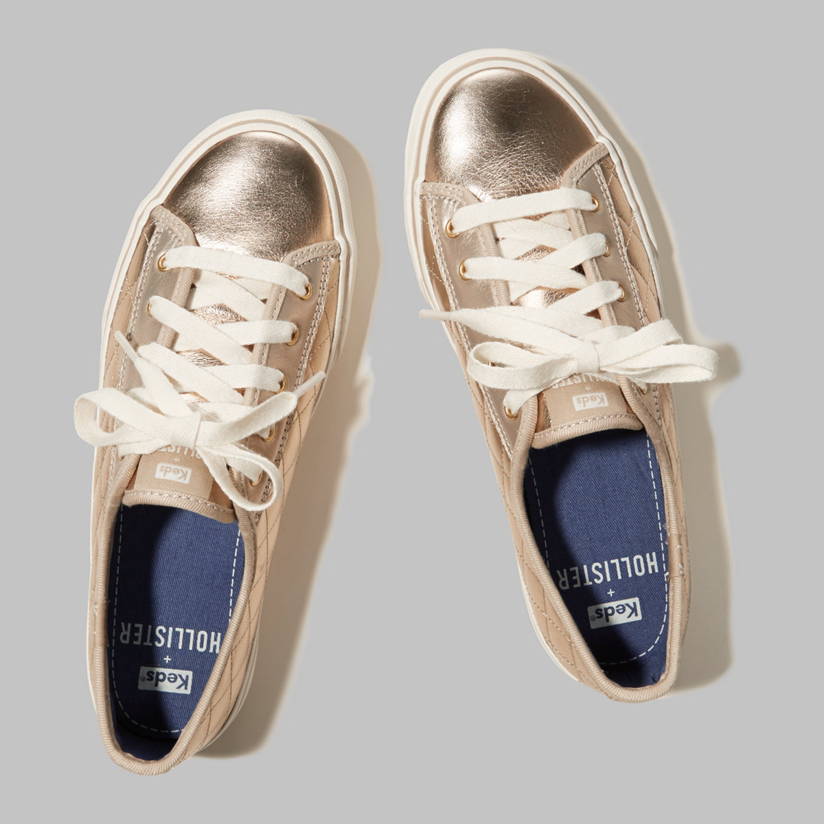 Hollister + Keds Quilted Sneaker