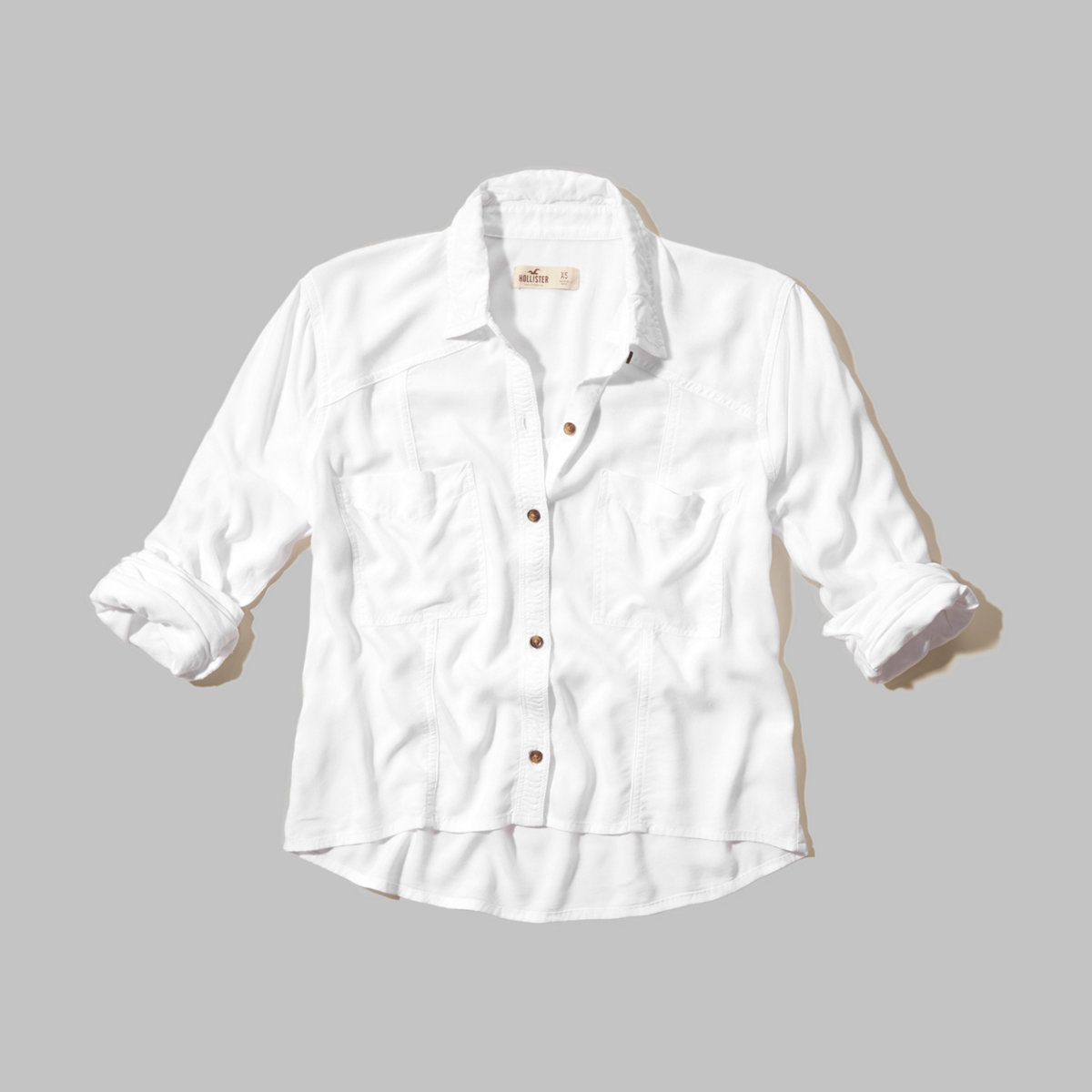Costa Mesa Cropped Shirt