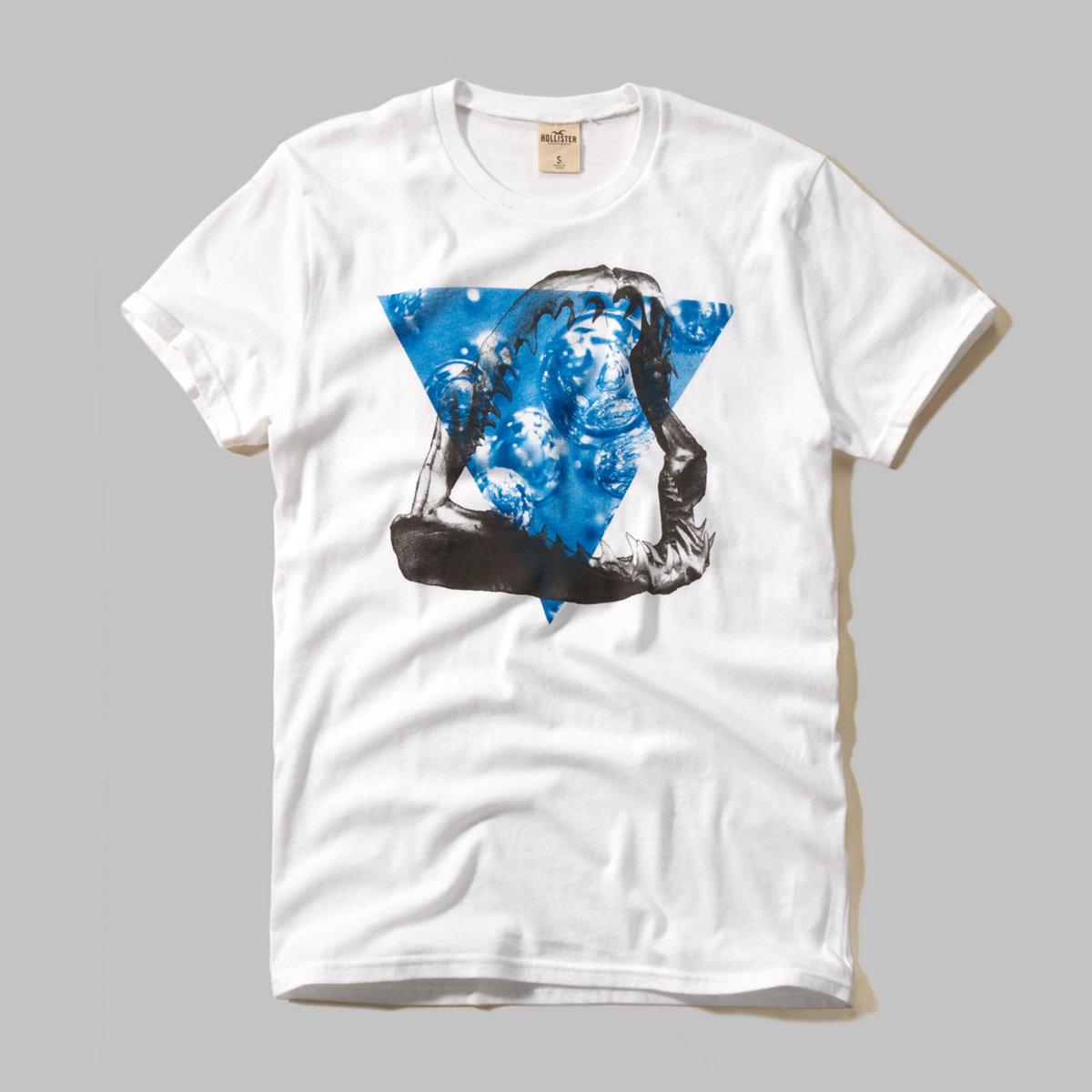 North Jetty Black & White Graphic T-Shirt