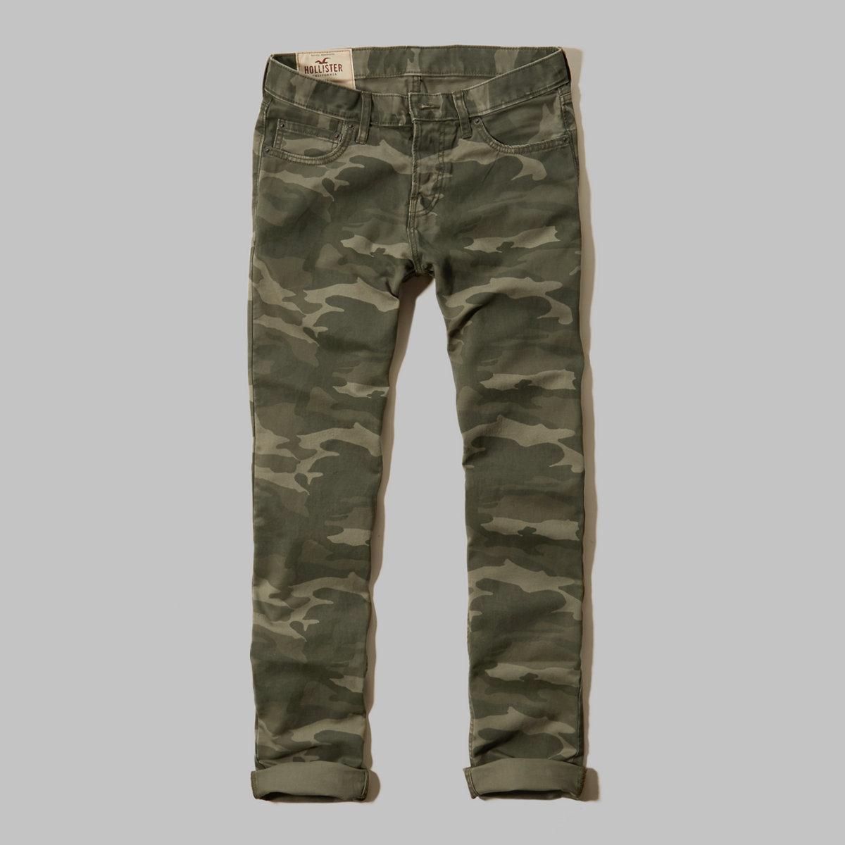 Hollister Skinny 5 Pocket Button Fly Pants
