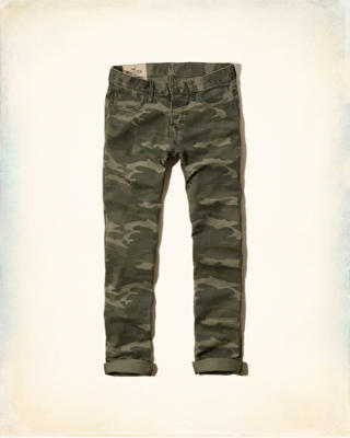 Hollister Skinny 5 Pocket Button Fly Pants