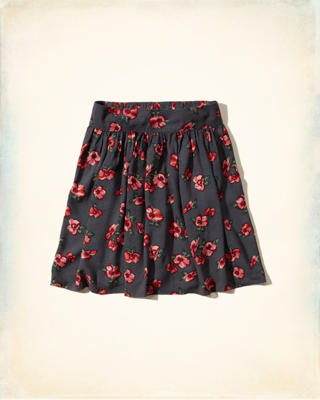 Ormond Beach Skater Skirt