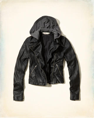 San Onofre Faux Leather Jacket