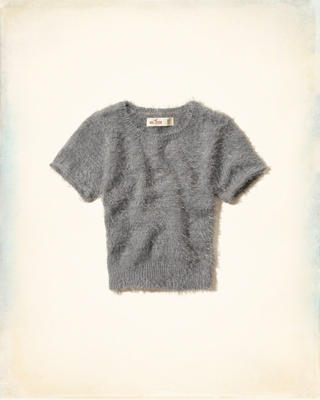 Dockweiler Beach Fuzzy T-Shirt Sweater