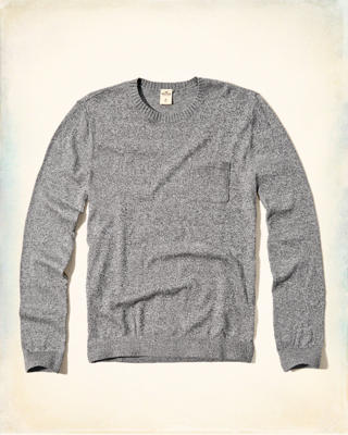 Pocket Crew Sweater