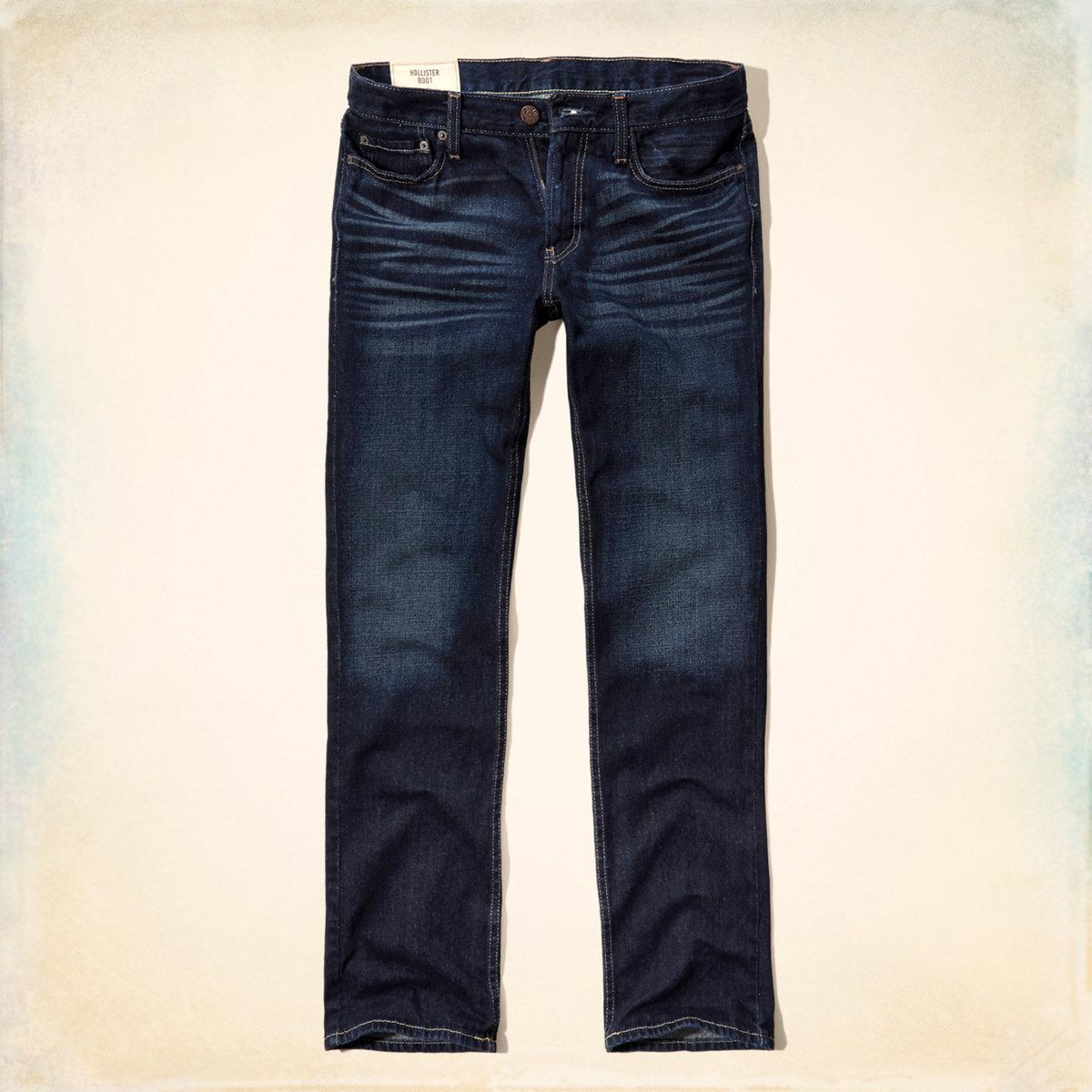 Hollister Boot Zipper Fly Jeans