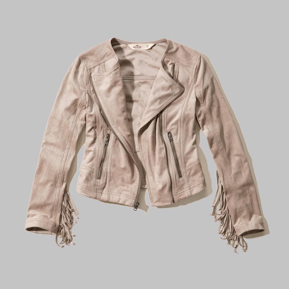 Doheney Faux Suede Jacket