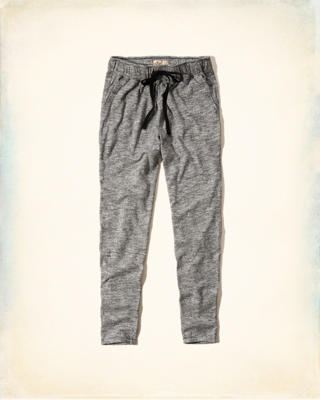 Hollister Textured Knit Jogger