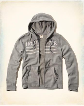 hol Logo Fullzip Hoodie