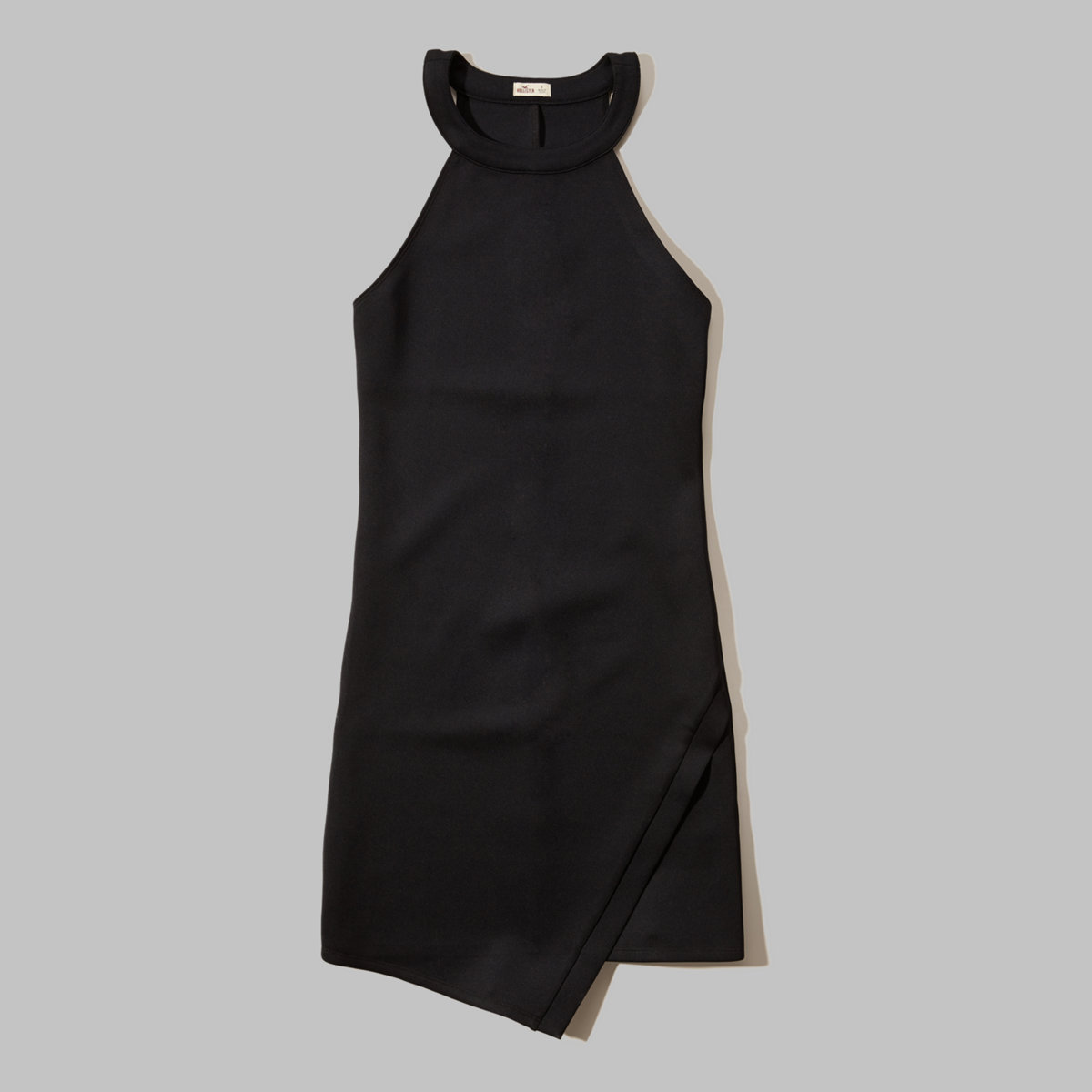 Neoprene Wrap Dress