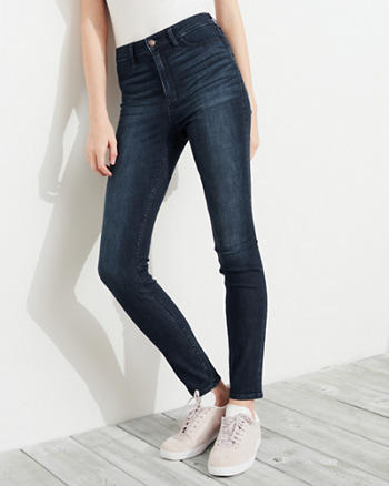 Stretch High-Rise Jean Leggings