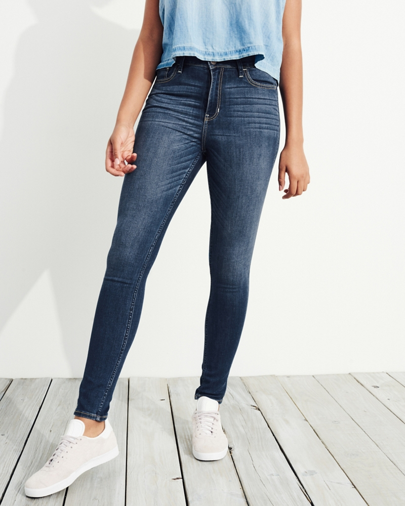 Hollister ryan super skinny ankle jeans