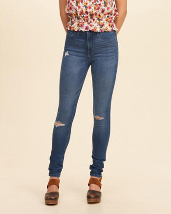 Super Skinny Jeans for Girls | Hollister Co.