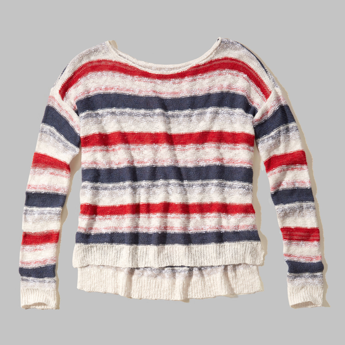 Striped Americana Sweater