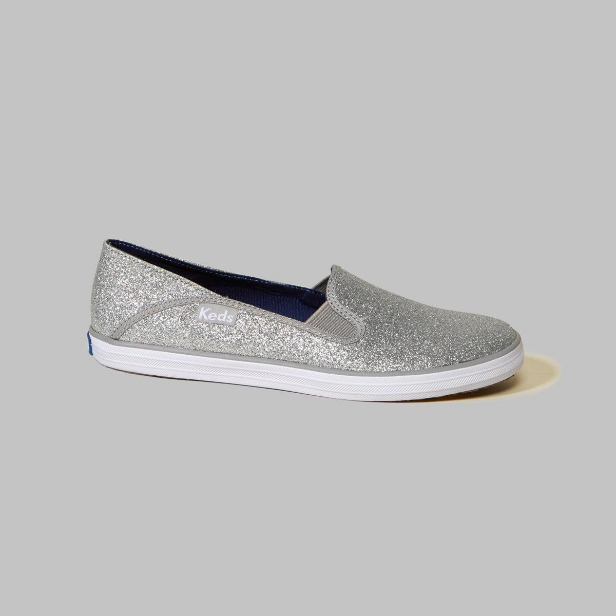 Hollister + Keds Crashback Glitter Sneakers