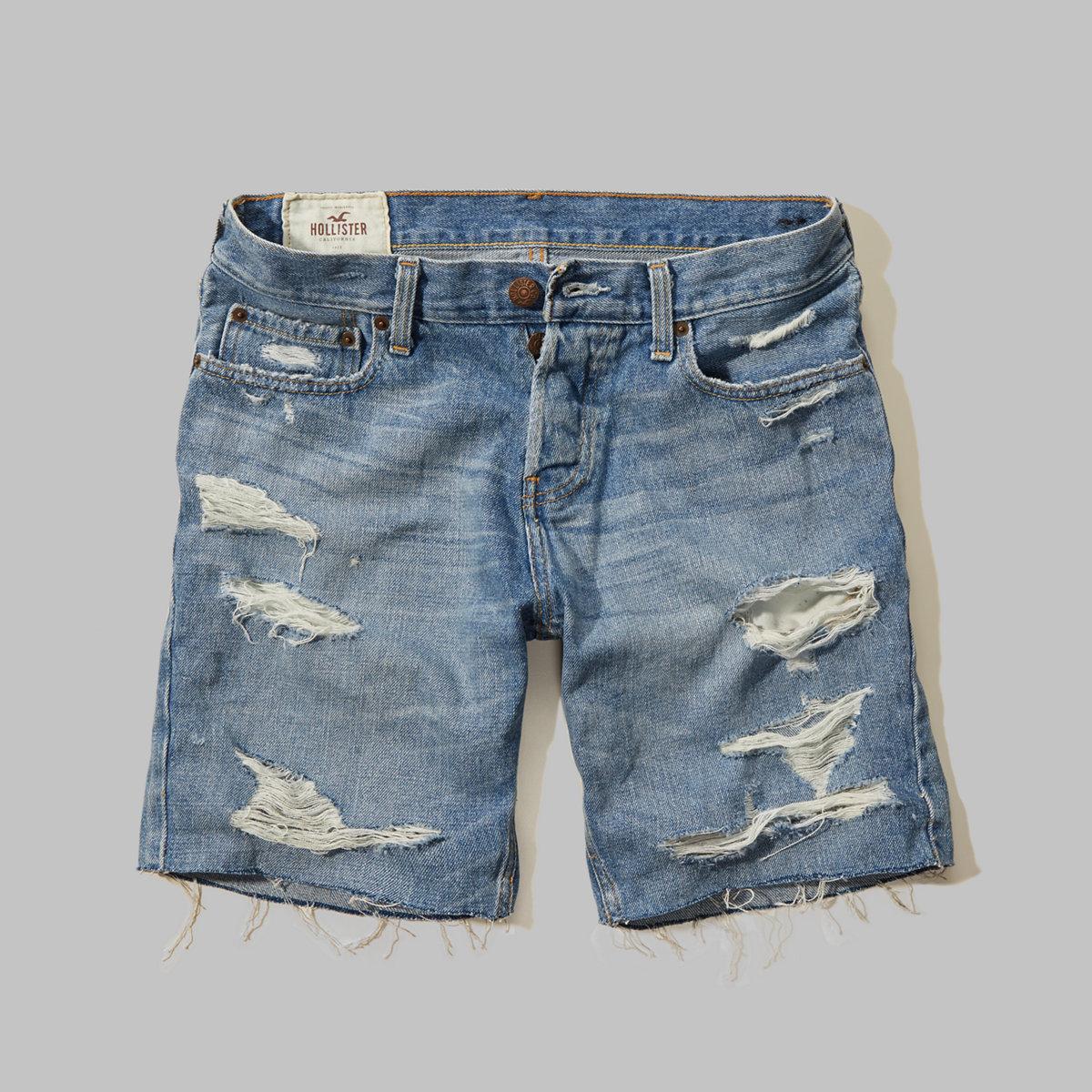 Hollister Prep Fit Denim Shorts