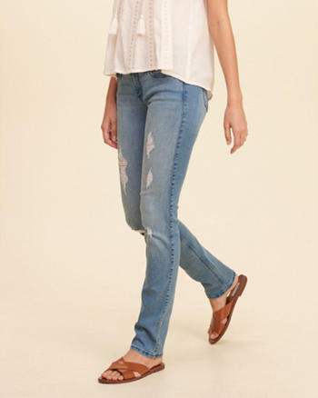 Hollister Low-Rise Skinny Jeans