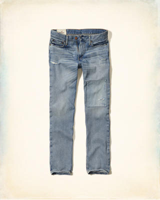 Hollister Classic Straight Zipper Fly Jeans