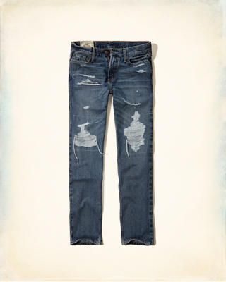 Hollister Classic Straight Zip Fly Jeans