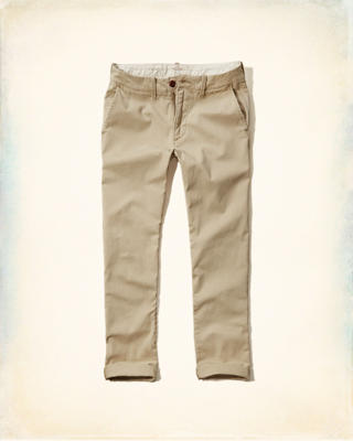 Hollister Skinny Zipper Fly Chinos
