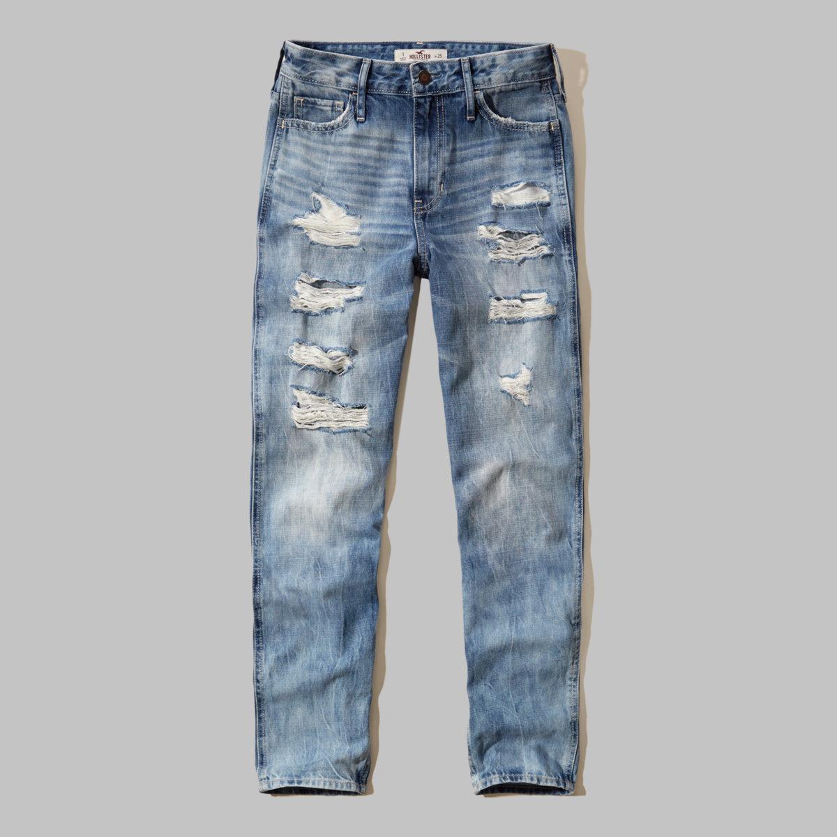 Hollister Girlfriend Jeans