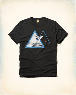 Geometric Photoreal Graphic Tee