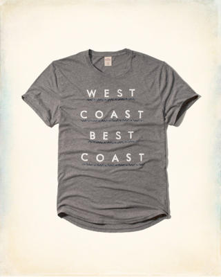Hollister Surf Graphic Tee