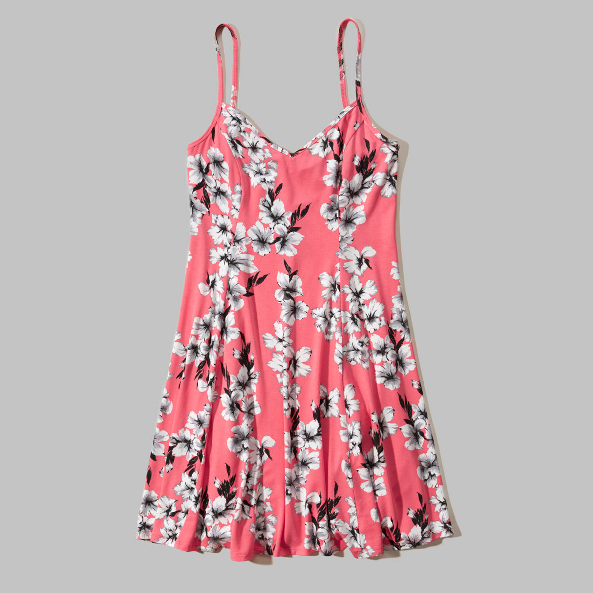 Drapey Knit Skater Dress