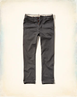 Hollister Classic Straight Button Fly Chinos