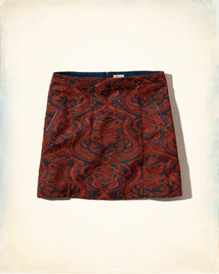 Tapestry A-Line Skirt