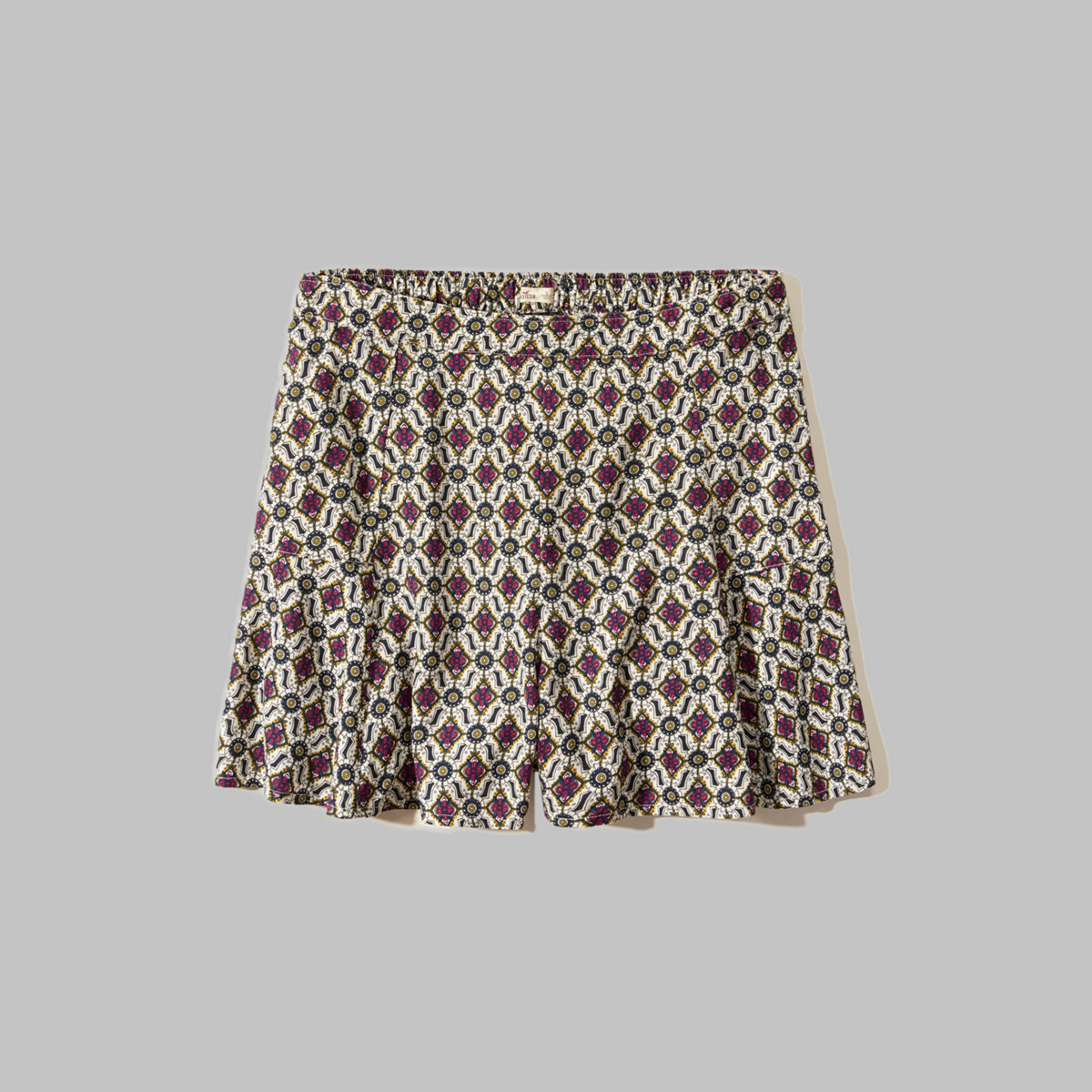 Patterned Culotte Shorts