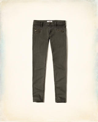 Hollister Zip Pocket Super Skinny Pants