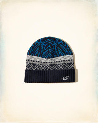 Patterned Icon Beanie