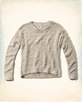 Textured Shine Knit Sweater
