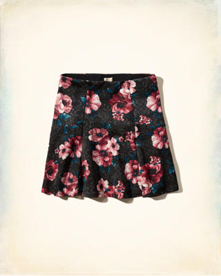Printed Neoprene Skirt