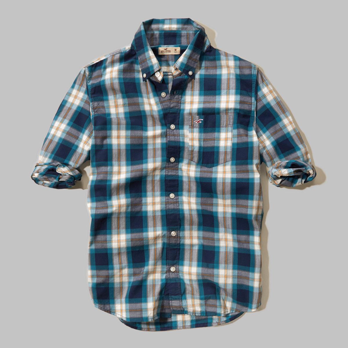 Plaid Pocket Shirt