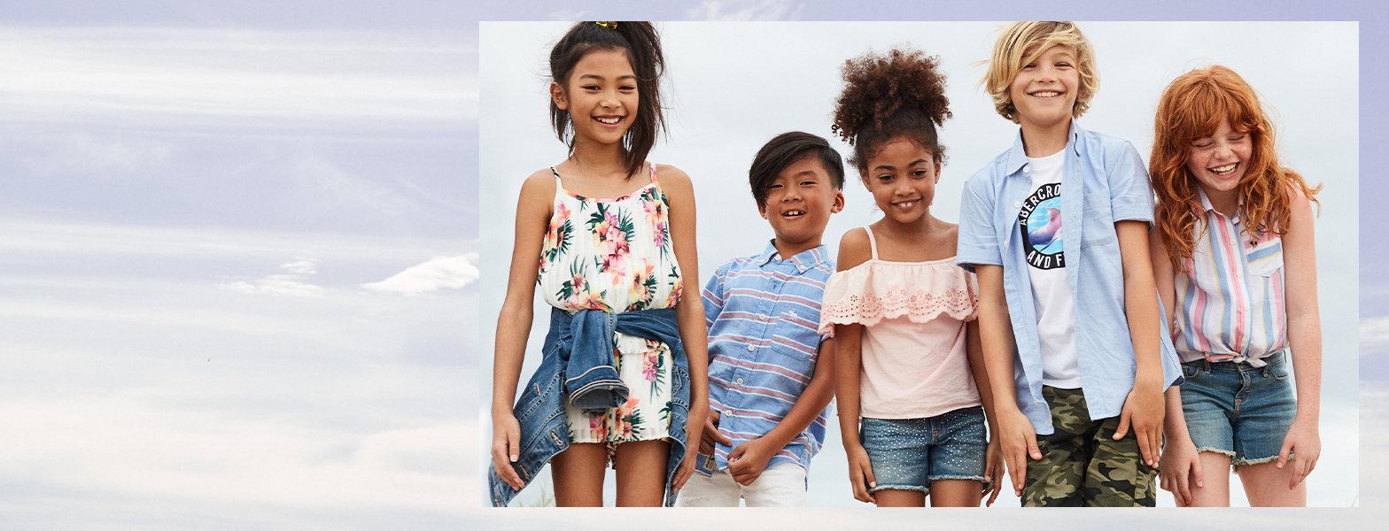 abercrombie kids | vêtements américains authentiques pour enfant