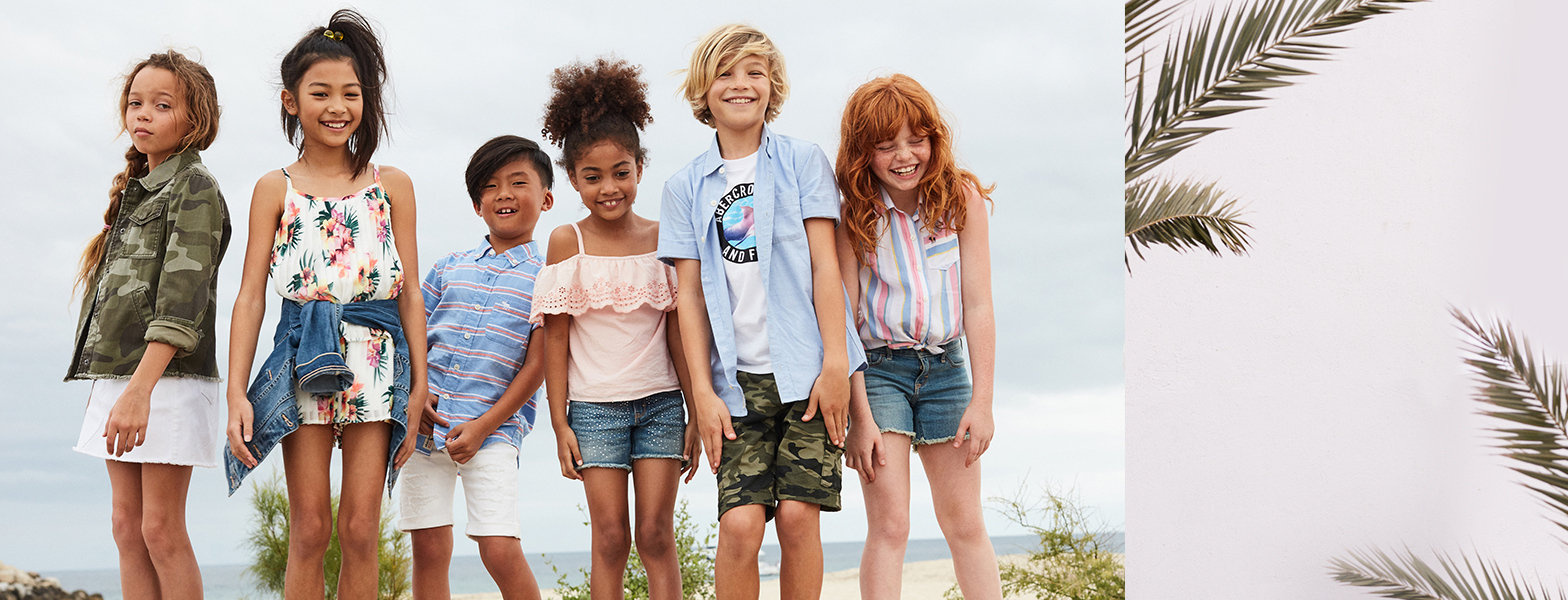 53cb909493 Authentic American Kids Clothing Since 1892 - abercrombie kids