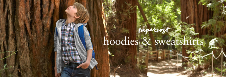 Boys Hoodies & Sweatshirts