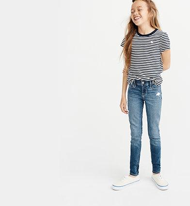 6a6f4987ee96b girls jeans | abercrombie kids