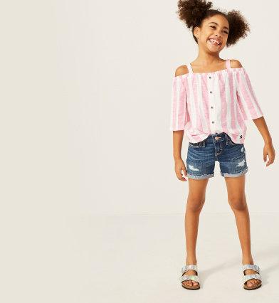c7f6688f8a088 girls shorts & skirts | abercrombie kids