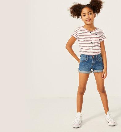 fille shorts et jupes | abercrombie kids