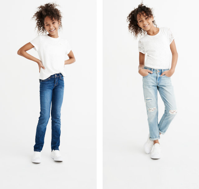 girls jeans | abercrombie kids