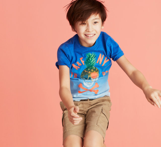 Abercrombie kids authentic american kids clothing since 1892 for Dive bar shirt club promotion codes