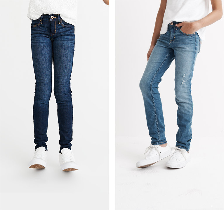 girls jeans abercrombie kids
