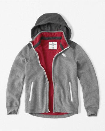 kids polar fleece hoodie