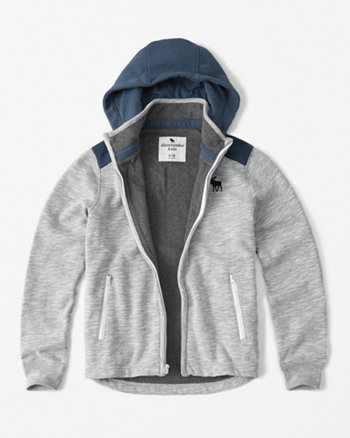 kids winter fleece-lined hoodie