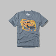 girls pontiac graphic tee