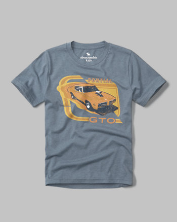 kids pontiac graphic tee